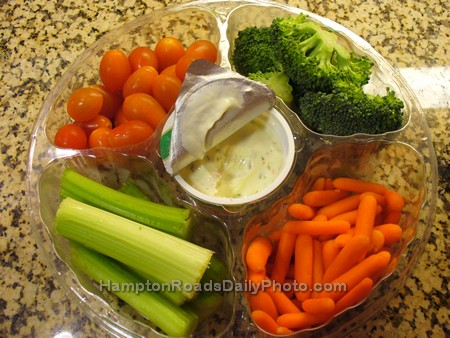 Veggie Tray - A Delicious, Healthy Snack