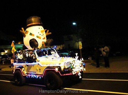 Frosty the Snowman Jeep