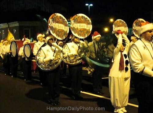 High School Marching Band - Peace, Love and Joy Tubas