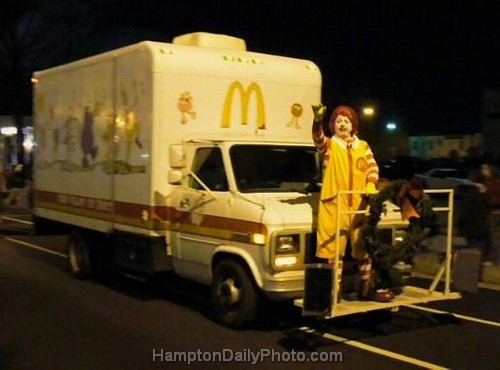 Ronald McDonald at Hampton Holly Days