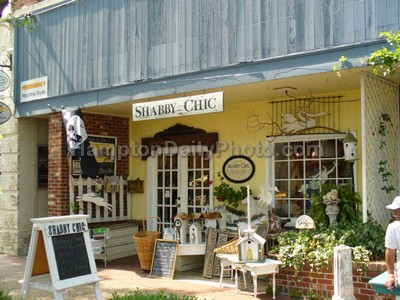 Shabby Chic Shops Downtown Hampton