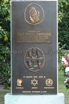 Four Heroic Chaplains Memorial in Huntington Park