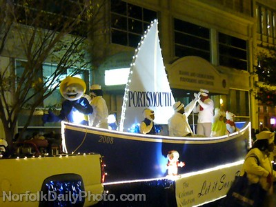 City of Portsmouth Float - Norfolk Grand Illumination Parade