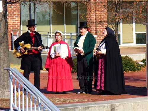 Traditional Christmas Carolers