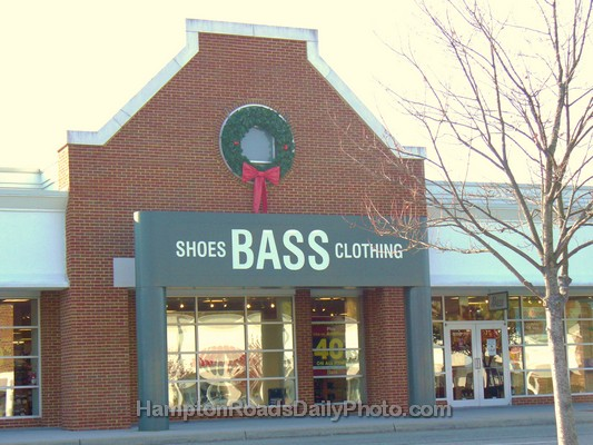 Bass clothing store